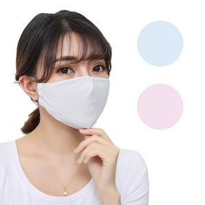 Polyester Cool Summer Ice Silk Mask Washable and Reusable Face Protection